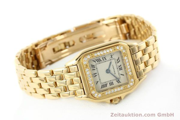 montre de luxe d occasion Cartier Panthere or 18 ct quartz Kal. 157  | 141936 03