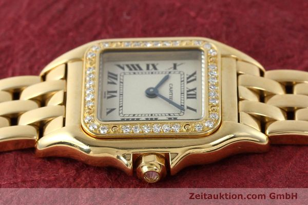 Used luxury watch Cartier Panthere 18 ct gold quartz Kal. 157  | 141936 05