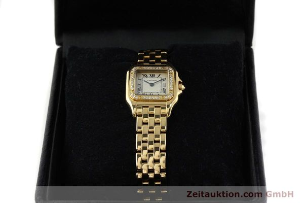 montre de luxe d occasion Cartier Panthere or 18 ct quartz Kal. 157  | 141936 07