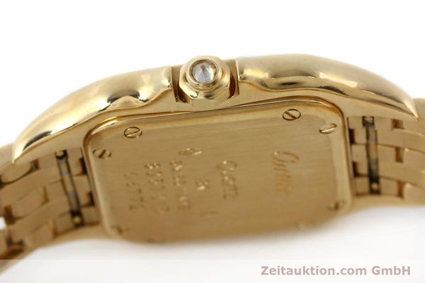 montre de luxe d occasion Cartier Panthere or 18 ct quartz Kal. 157  | 141936 08