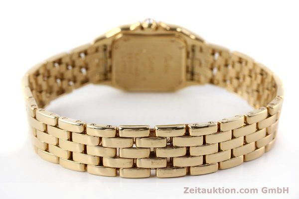 Used luxury watch Cartier Panthere 18 ct gold quartz Kal. 157  | 141936 10