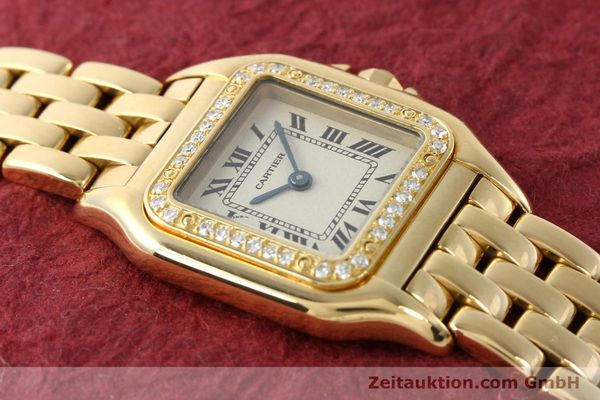 montre de luxe d occasion Cartier Panthere or 18 ct quartz Kal. 157  | 141936 13