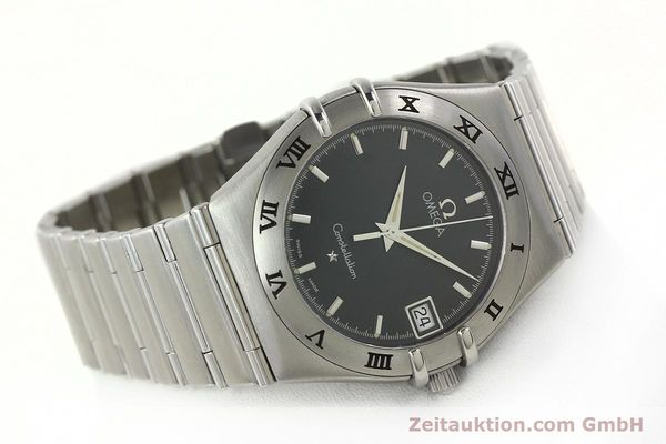 montre de luxe d occasion Omega Constellation acier quartz Kal. 1532  | 141937 03