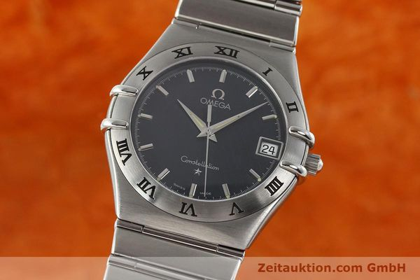montre de luxe d occasion Omega Constellation acier quartz Kal. 1532  | 141937 04
