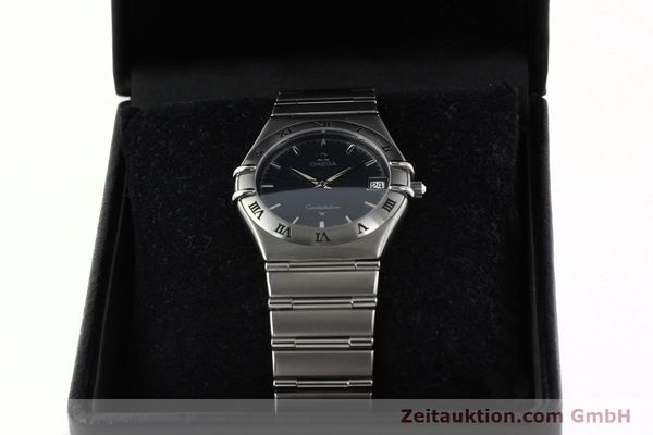 montre de luxe d occasion Omega Constellation acier quartz Kal. 1532  | 141937 07