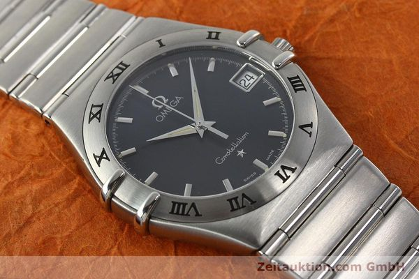 montre de luxe d occasion Omega Constellation acier quartz Kal. 1532  | 141937 14