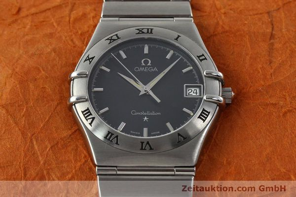 montre de luxe d occasion Omega Constellation acier quartz Kal. 1532  | 141937 15
