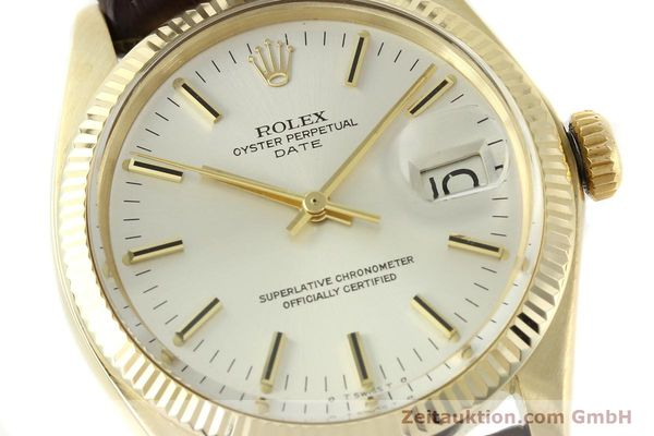 Used luxury watch Rolex Date 14 ct yellow gold automatic Kal. 1570 Ref. 1503  | 141939 02