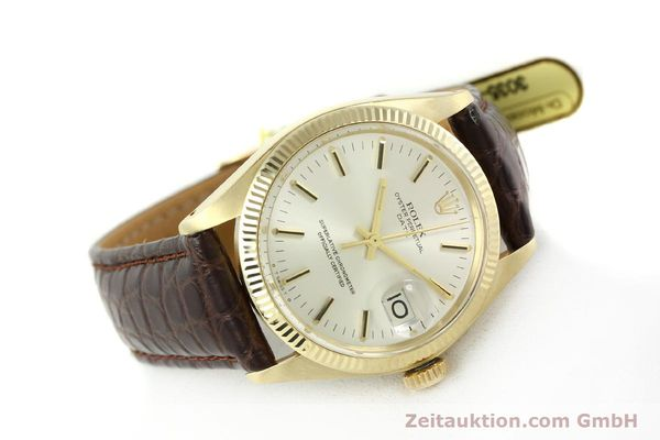 Used luxury watch Rolex Date 14 ct yellow gold automatic Kal. 1570 Ref. 1503  | 141939 03