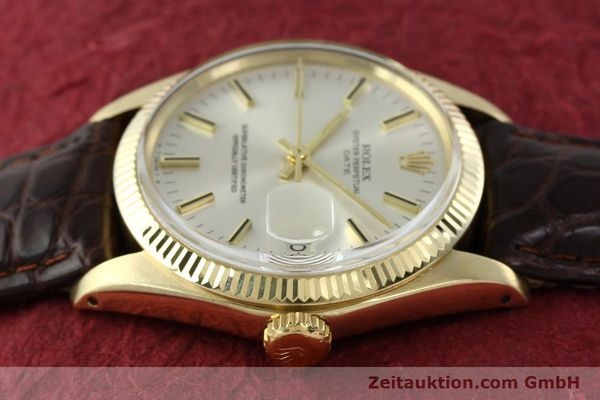 Used luxury watch Rolex Date 14 ct yellow gold automatic Kal. 1570 Ref. 1503  | 141939 05