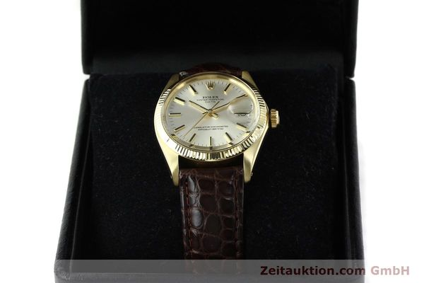 Used luxury watch Rolex Date 14 ct yellow gold automatic Kal. 1570 Ref. 1503  | 141939 07