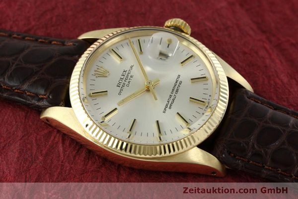 Used luxury watch Rolex Date 14 ct yellow gold automatic Kal. 1570 Ref. 1503  | 141939 15