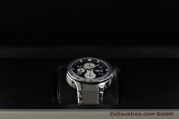 Used luxury watch Porsche Design Flat Six chronograph steel automatic Kal. ETA 7750 Ref. 6340.41/4  | 141943 07