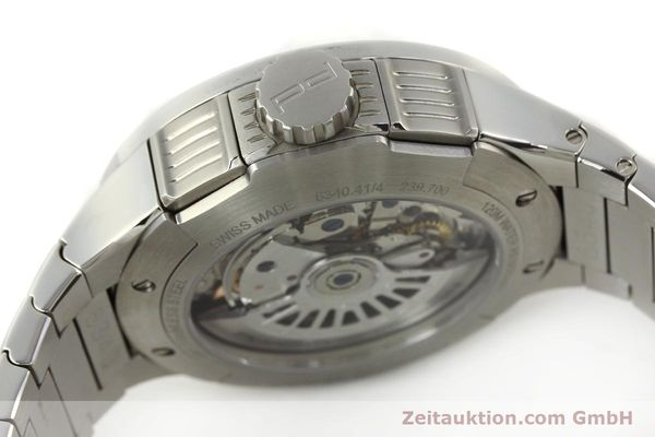 Used luxury watch Porsche Design Flat Six chronograph steel automatic Kal. ETA 7750 Ref. 6340.41/4  | 141943 11