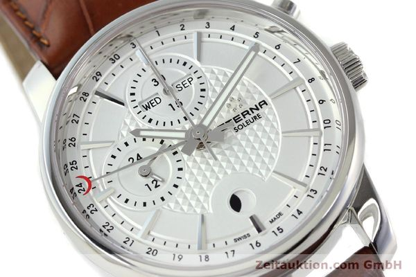 Used luxury watch Eterna Soleure chronograph steel automatic Ref. 8340.41  | 141944 02