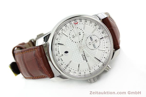 Used luxury watch Eterna Soleure chronograph steel automatic Ref. 8340.41  | 141944 03
