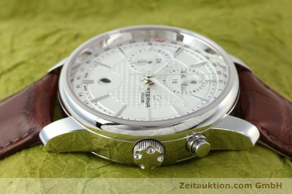 Used luxury watch Eterna Soleure chronograph steel automatic Ref. 8340.41  | 141944 05