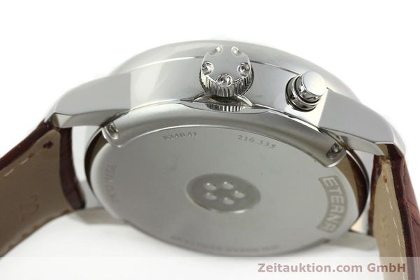 Used luxury watch Eterna Soleure chronograph steel automatic Ref. 8340.41  | 141944 11