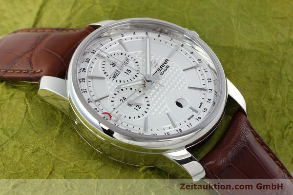Used luxury watch Eterna Soleure chronograph steel automatic Ref. 8340.41  | 141944 16