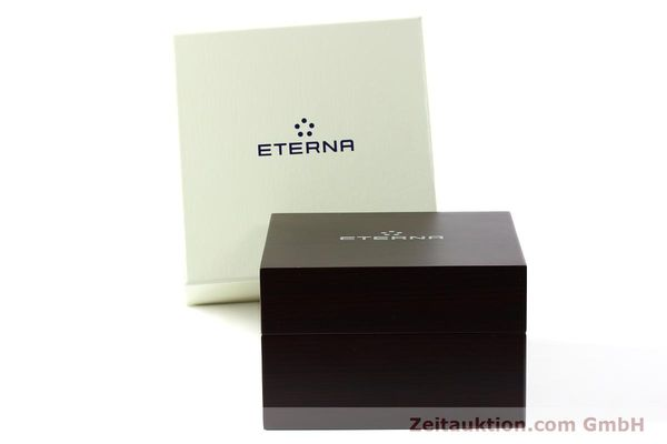 Used luxury watch Eterna Soleure chronograph steel automatic Ref. 8340.41  | 141945 06