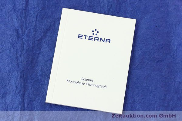 Used luxury watch Eterna Soleure chronograph steel automatic Ref. 8340.41  | 141945 08