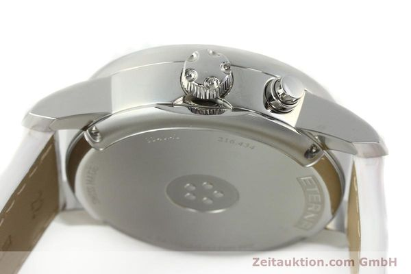 Used luxury watch Eterna Soleure chronograph steel automatic Ref. 8340.41  | 141945 11