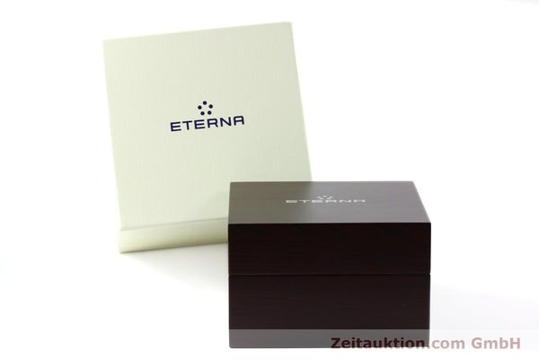 Used luxury watch Eterna Soleure chronograph steel automatic Ref. 8340.41  | 141946 06