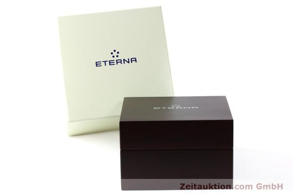 Used luxury watch Eterna Soleure chronograph steel automatic Ref. 8340.41  | 141948 06