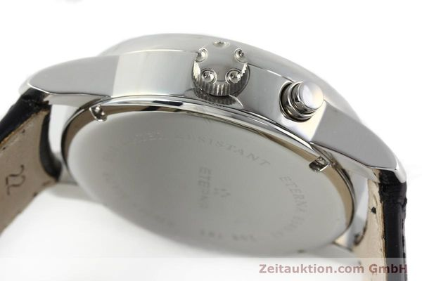 Used luxury watch Eterna Soleure chronograph steel automatic Ref. 8340.41  | 141948 11