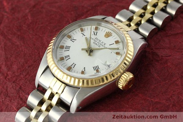 Used luxury watch Rolex Lady Date steel / gold automatic Kal. 2030 Ref. 6917  | 141949 01