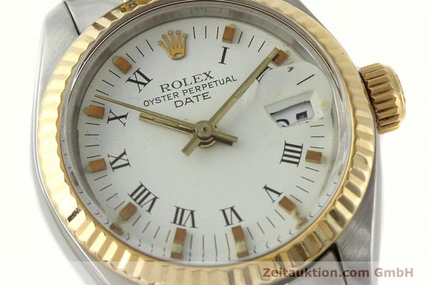 Used luxury watch Rolex Lady Date steel / gold automatic Kal. 2030 Ref. 6917  | 141949 02