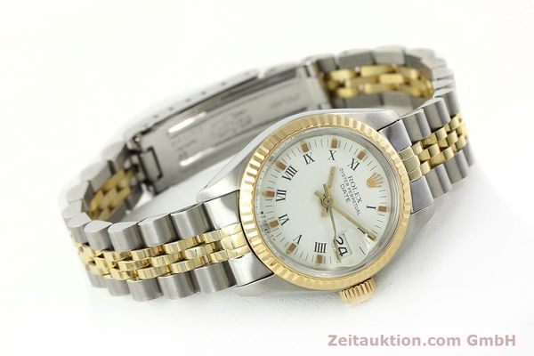 Used luxury watch Rolex Lady Date steel / gold automatic Kal. 2030 Ref. 6917  | 141949 03