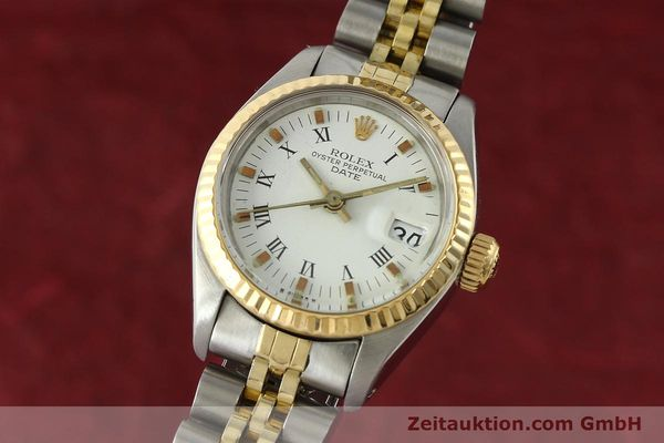 Used luxury watch Rolex Lady Date steel / gold automatic Kal. 2030 Ref. 6917  | 141949 04