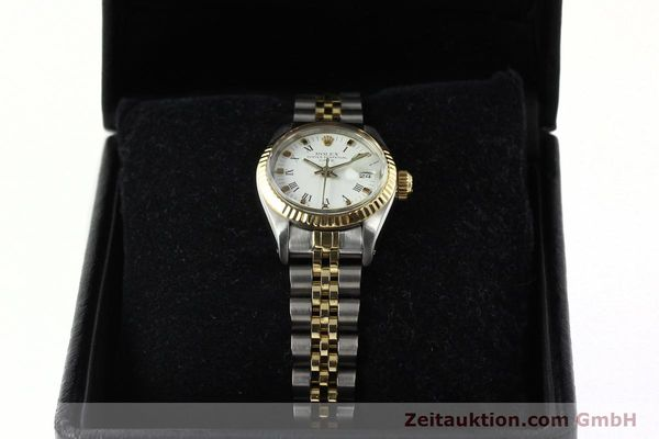 Used luxury watch Rolex Lady Date steel / gold automatic Kal. 2030 Ref. 6917  | 141949 07