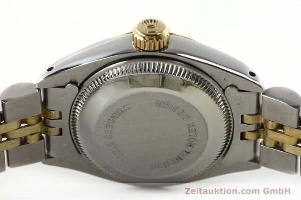 Used luxury watch Rolex Lady Date steel / gold automatic Kal. 2030 Ref. 6917  | 141949 08