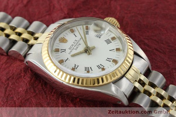 Used luxury watch Rolex Lady Date steel / gold automatic Kal. 2030 Ref. 6917  | 141949 15