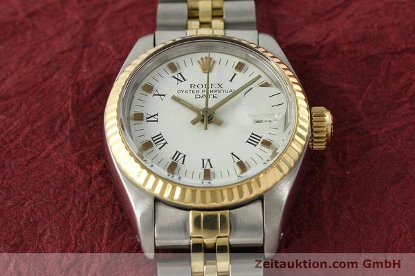 Used luxury watch Rolex Lady Date steel / gold automatic Kal. 2030 Ref. 6917  | 141949 16