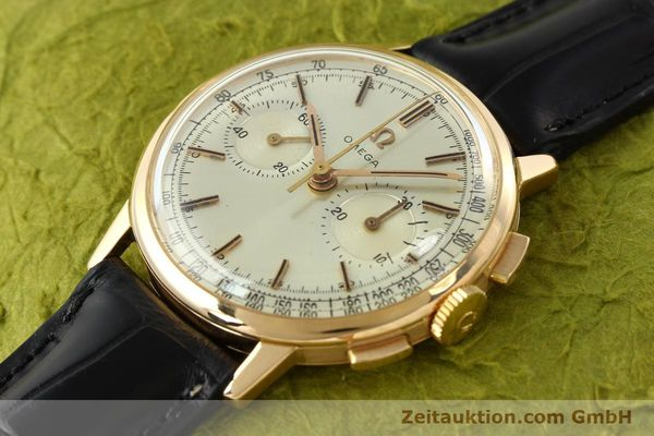 Used luxury watch Omega * chronograph 18 ct gold manual winding Kal. 320 Ref. 10100964  | 141951 01