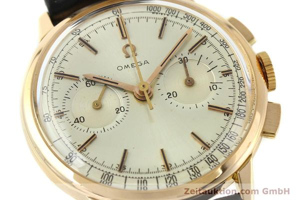 Used luxury watch Omega * chronograph 18 ct gold manual winding Kal. 320 Ref. 10100964  | 141951 02
