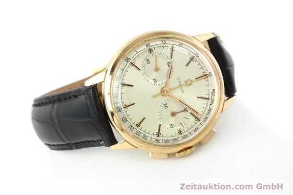 Used luxury watch Omega * chronograph 18 ct gold manual winding Kal. 320 Ref. 10100964  | 141951 03