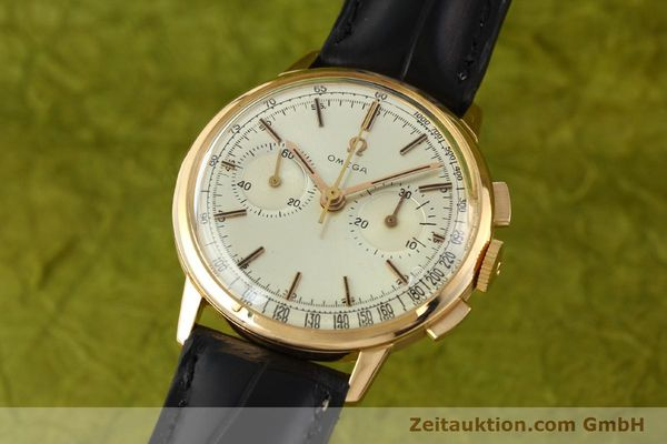 Used luxury watch Omega * chronograph 18 ct gold manual winding Kal. 320 Ref. 10100964  | 141951 04