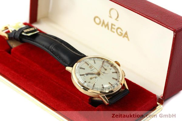 Used luxury watch Omega * chronograph 18 ct gold manual winding Kal. 320 Ref. 10100964  | 141951 07
