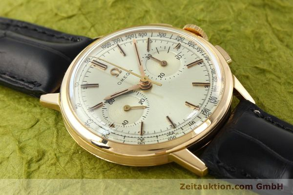 Used luxury watch Omega * chronograph 18 ct gold manual winding Kal. 320 Ref. 10100964  | 141951 14