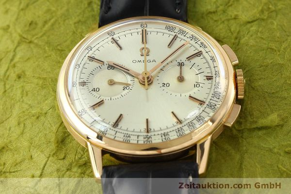 Used luxury watch Omega * chronograph 18 ct gold manual winding Kal. 320 Ref. 10100964  | 141951 15