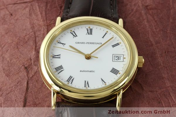 montre de luxe d occasion Girard Perregaux * or 18 ct automatique Kal. 220  | 141954 16