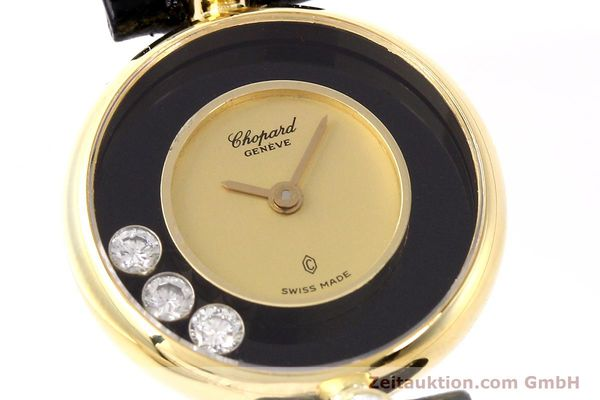 montre de luxe d occasion Chopard Happy Diamonds or 18 ct quartz Kal. ETA 201001 Ref. 204756  | 141959 02