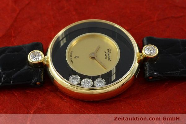 montre de luxe d occasion Chopard Happy Diamonds or 18 ct quartz Kal. ETA 201001 Ref. 204756  | 141959 05