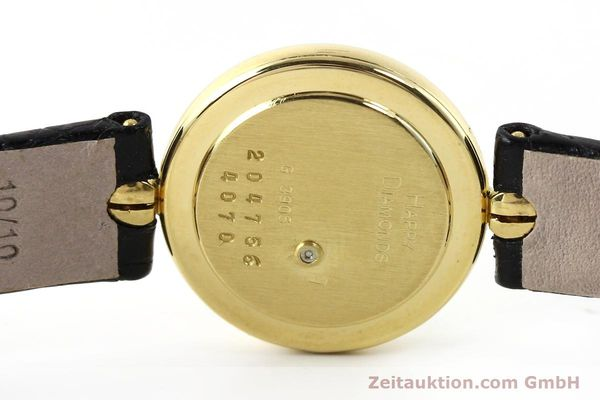 montre de luxe d occasion Chopard Happy Diamonds or 18 ct quartz Kal. ETA 201001 Ref. 204756  | 141959 08