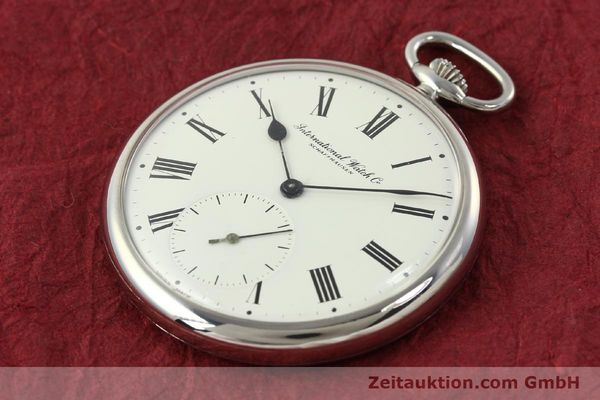 Used luxury watch IWC Taschenuhr steel manual winding Kal. C.972 Ref. 5301  | 141961 01