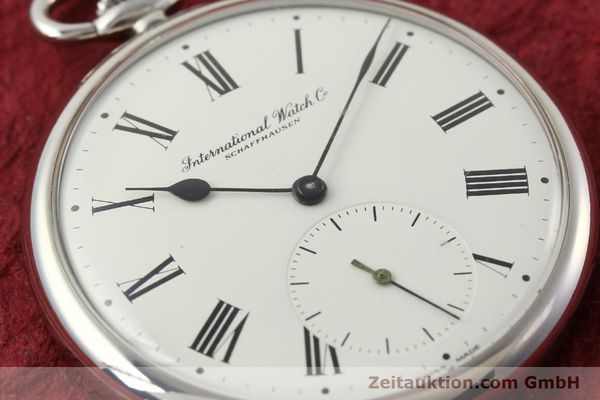 Used luxury watch IWC Taschenuhr steel manual winding Kal. C.972 Ref. 5301  | 141961 02